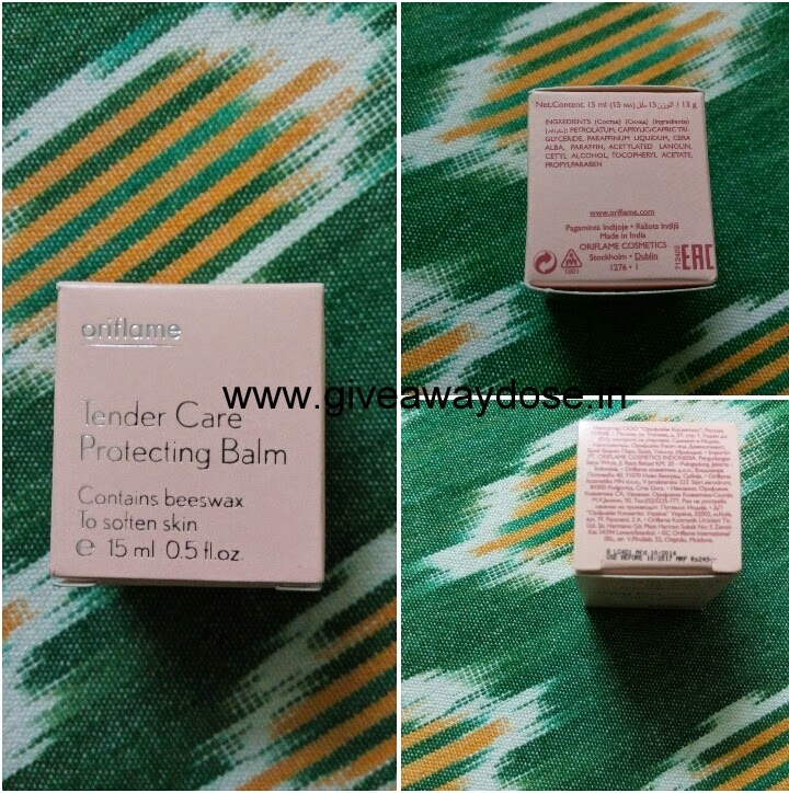 oriflame, tender care, review