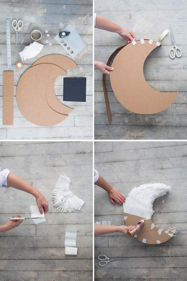 Луна из бумаги