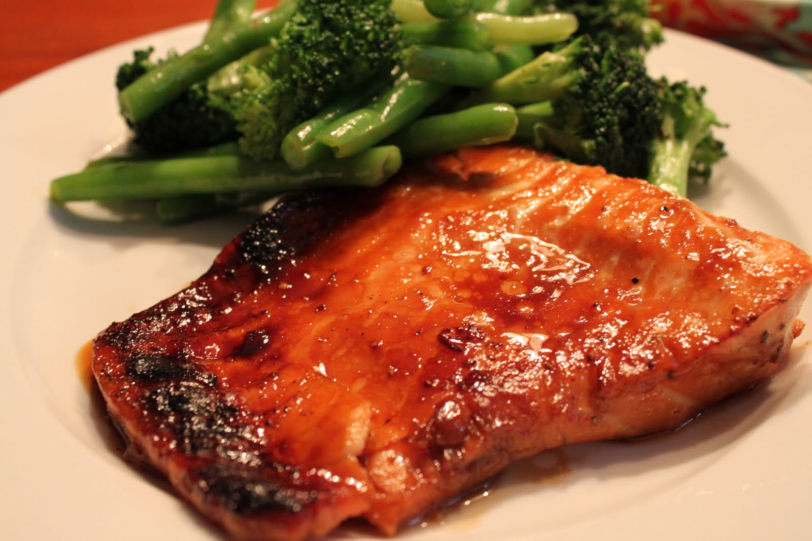 Mae's Kitchen: Baked Teriyaki Salmon