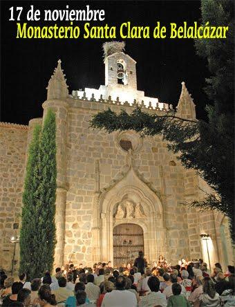 El monasterio de Santa Clara de Belalcázar