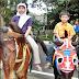 Berkuda Di Tengah Kota Bandung