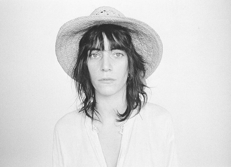 Patti Smith, icon, straw hat, iconic, legend, musician rock n roll