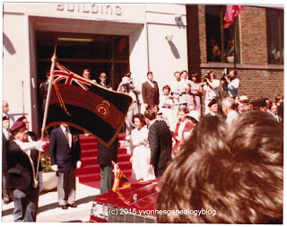 HRH Princess Margaret in Timmins Ontario Canada