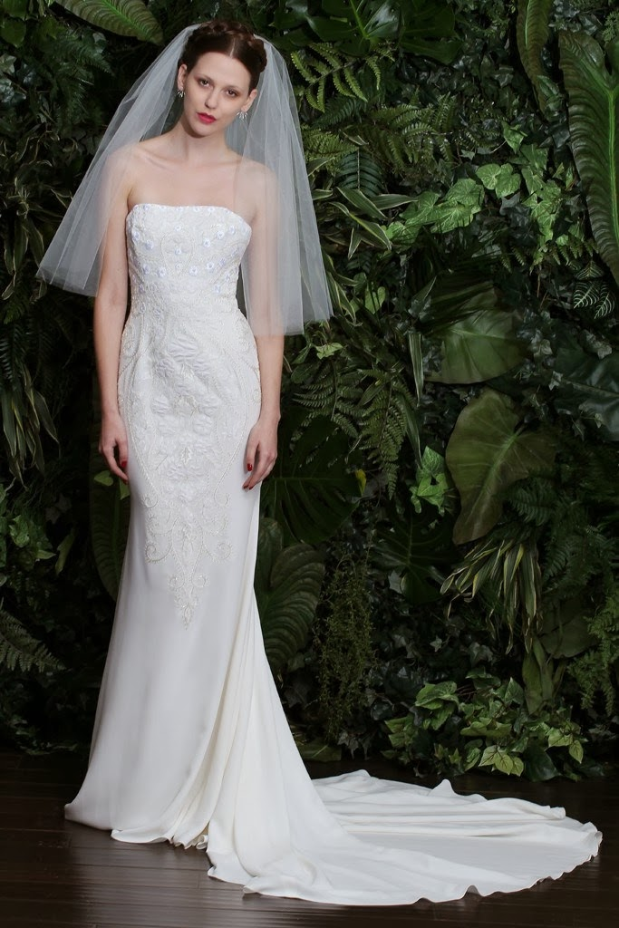 Naeem Khan 2014 Fall Bridal Collection