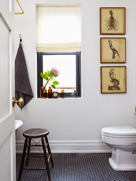 la fabrique d co une salle de bain l 39 esprit vintage. Black Bedroom Furniture Sets. Home Design Ideas