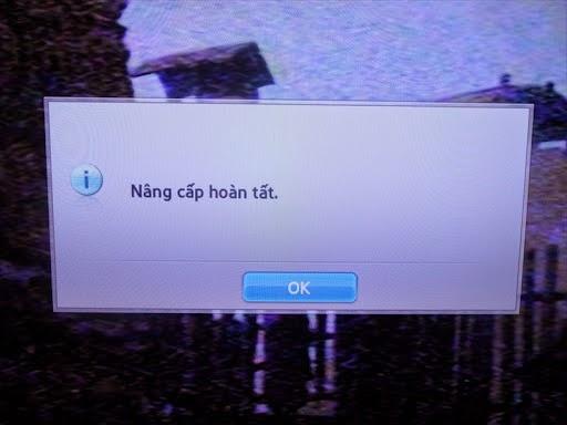 Hướng dẫn nâng cấp phần mềm cho HDTV Samsung 6