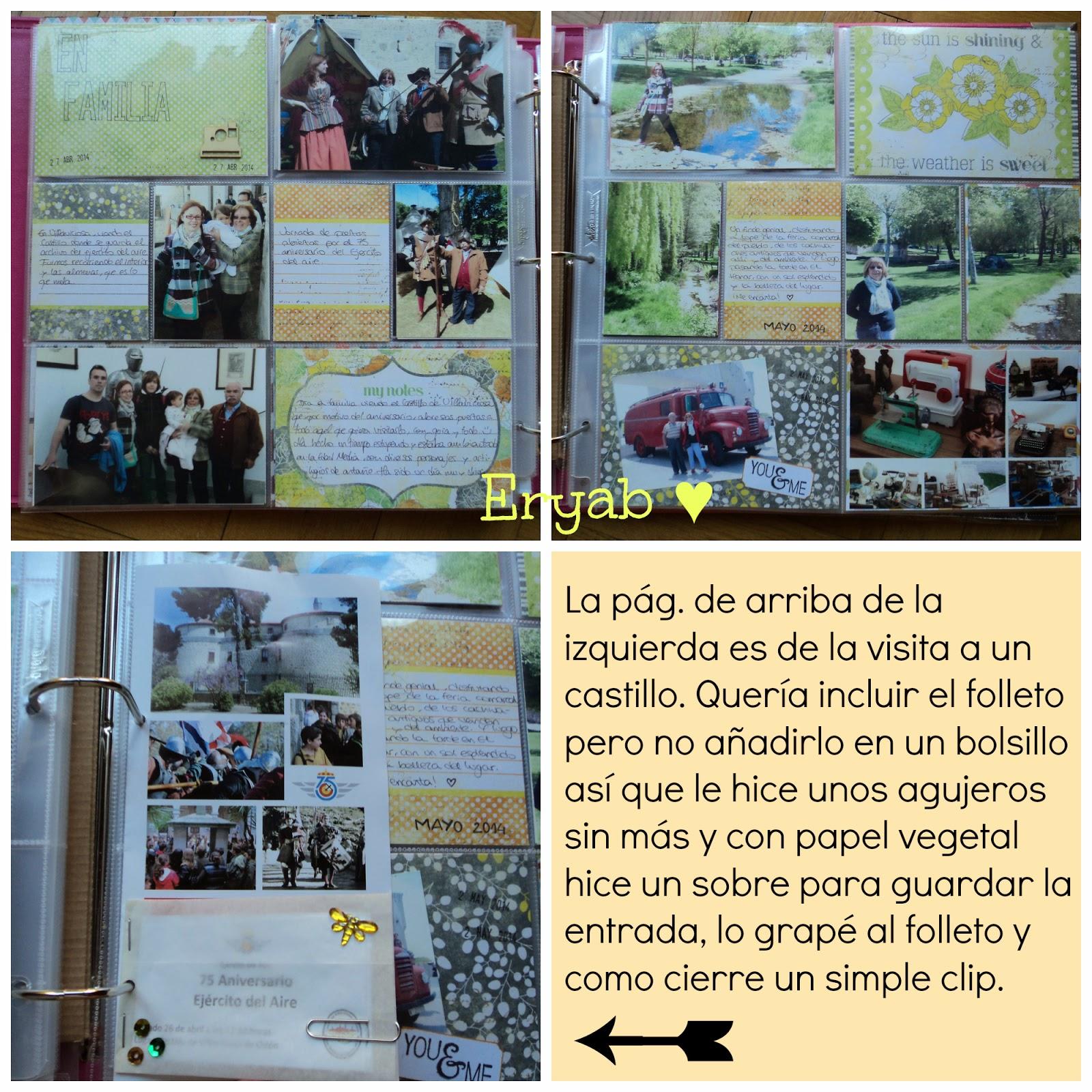 páginas project life abril y mayo