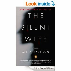 The Silent Wife book cover, The Silent Wife bookcover, New York Times Bestseller, A.S.A. Harrison