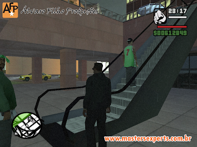 Gta San Andreas: Escada Rolante do Mal!!!