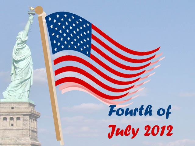 happy american independence day 2012 wallpaper