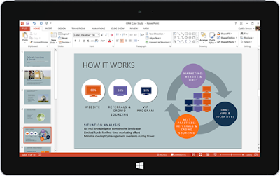 Microsoft releases Office Mobile apps (Word, Excel, PowerPoint & OneNote) for Windows 10 tablets