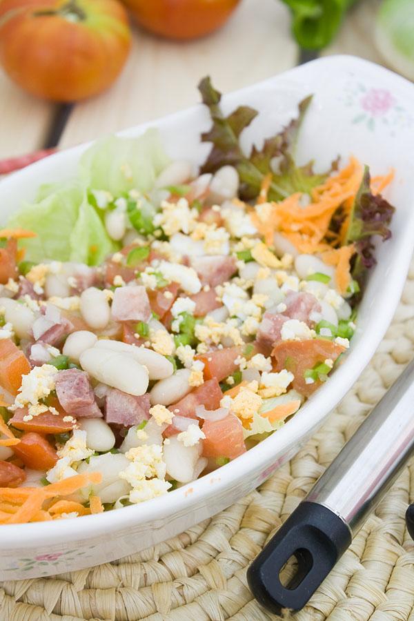 E cocinablog ensalada de alubias blancas - Ensalada de alubias ...