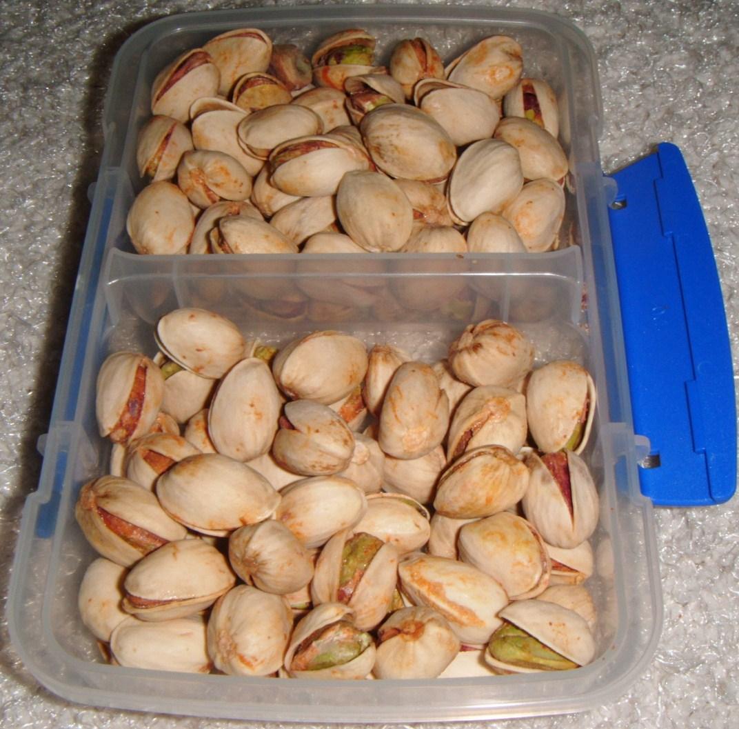 Prends une pistache c 39 est bon pour ce que t 39 as sponso croque madame - Calories pistaches grillees ...