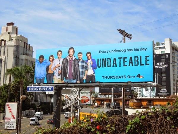 Undateable series premiere NBC billboard