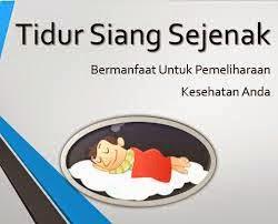 Manfaat Tidur Siang Berdasarkan Durasinya