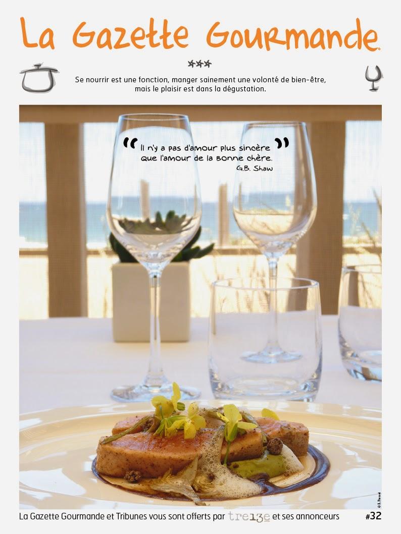 Voir La Gazette Gourmande