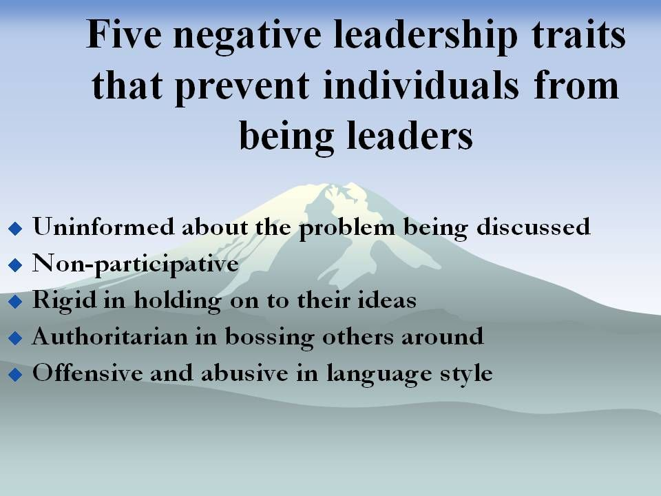 essays on leadership traits View and download leadership traits essays examples also discover topics, titles, outlines, thesis statements, and conclusions for.