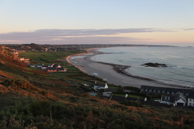 Fields at L'Etacq and St Ouen's Bay