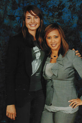 w/ Mia Maestro ~ 2011 Breaking Dawn Convention