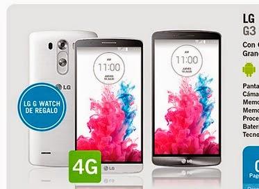 LG G3 con Yoigo: precio y características