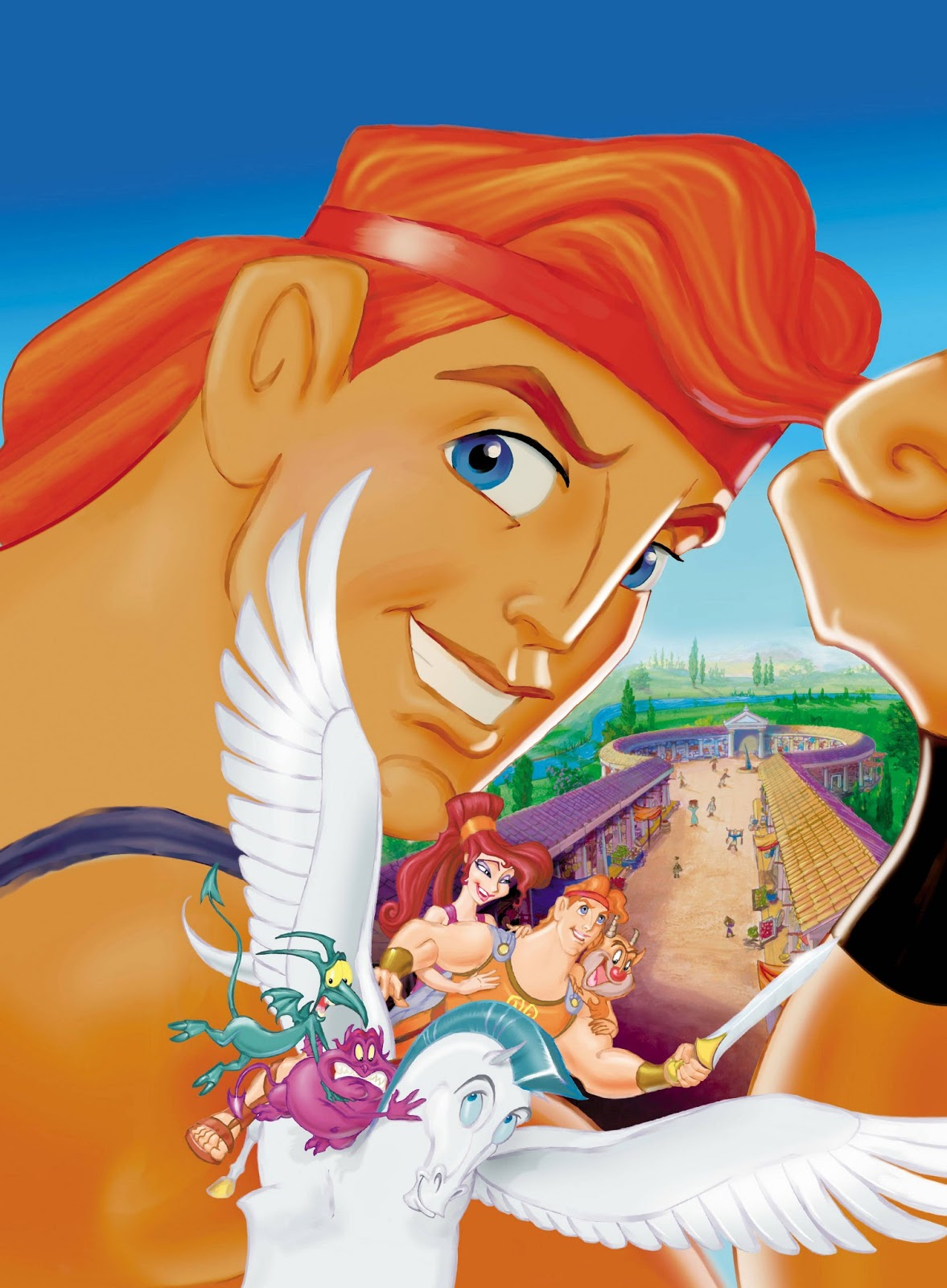 Hercules! De Disney Hercules+walt+disney+blu+ray+august+agosto+2013+poster+cartel+clasico+heroe+platinum+edition+megara+pegasus+pegaso+philoctetes+pena+panico+pain+panic