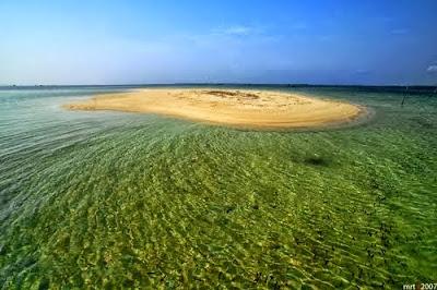 Unik! Pulau Ini Muncul di Siang Hari dan Tenggelam di Malam Hari
