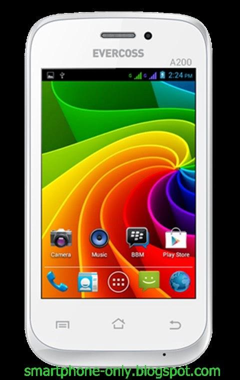 Spesifikasi dan harga Evercoss A200, Android Dual Core 500 Ribuan