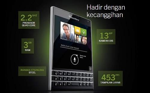 Harga Blackberry Passport Di Indonesia Beserta, Harga BlackBerry Passport April 2015 - Paket Blackberry, Harga BlackBerry Passport Terbaru April 2015 | OKETEKN