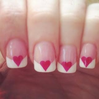 Slike noktiju - srca,love 004