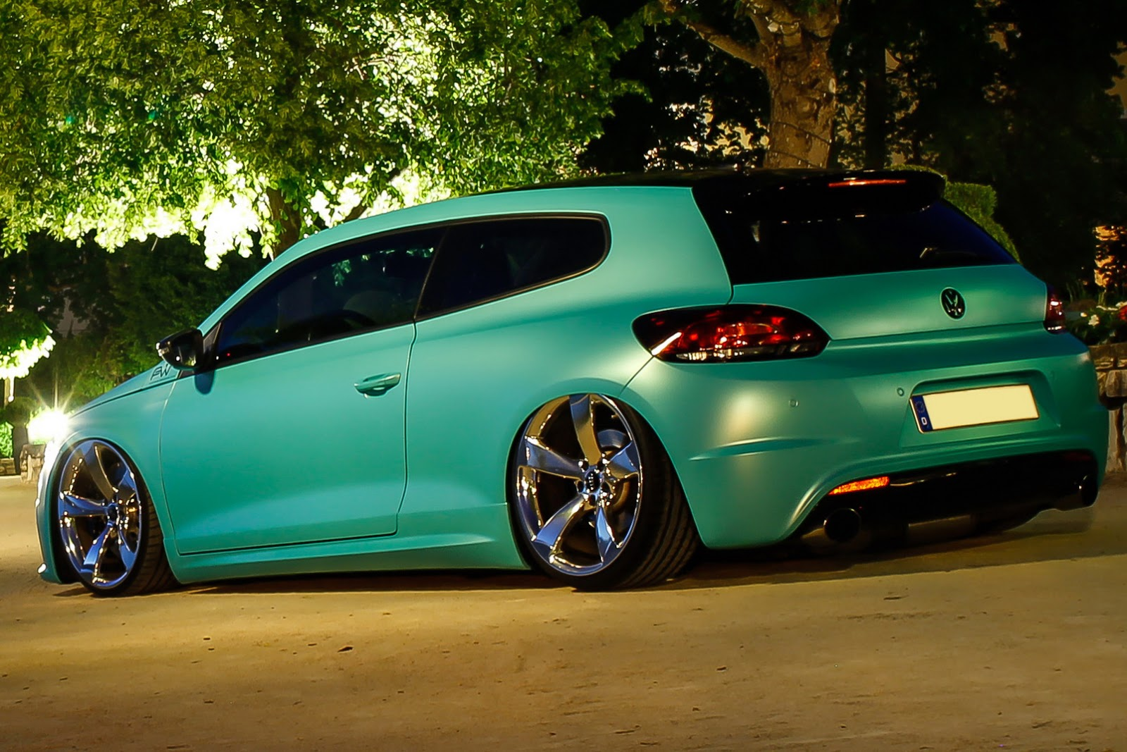 Slammed Vw Scirocco R With 370ps Is As Minty Fresh As They