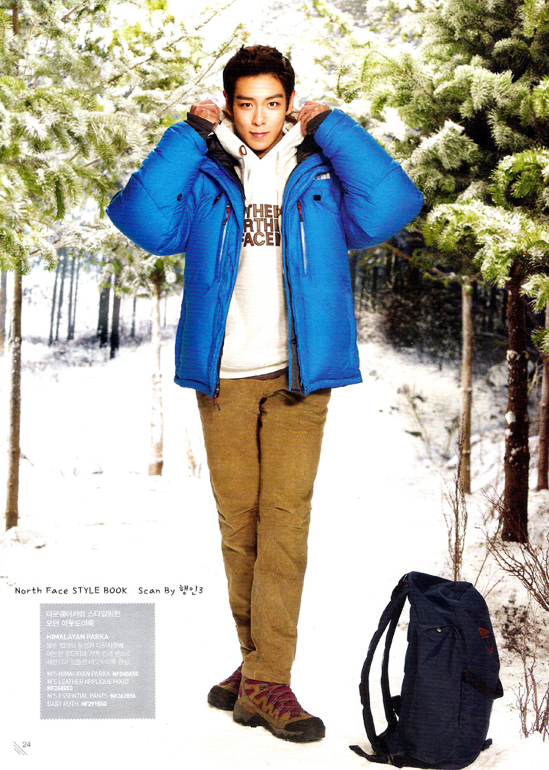 T.O.P's iCONS TOP+NORTH+FACE+STYLE+BOOK+MAGAZINE+SCANS+LEE+YEON+HEE+BIGBANG+UPDATES-4