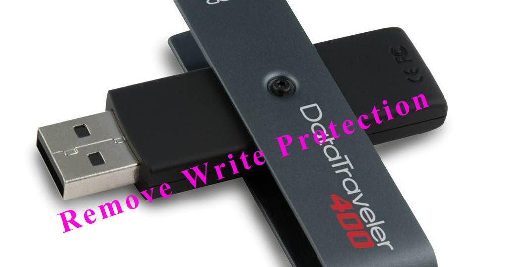 flash drive write protected My usb flash drive,whenever inserted in usb of my laptop shows write protected there is a data of 37 gb in it properties shows that but visible data is.