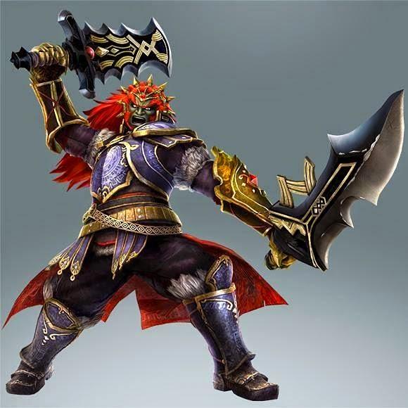 Dual Weild Swords Ganondorf