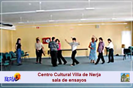 Sala de ensayos del Centro cultural Villa de Nerja