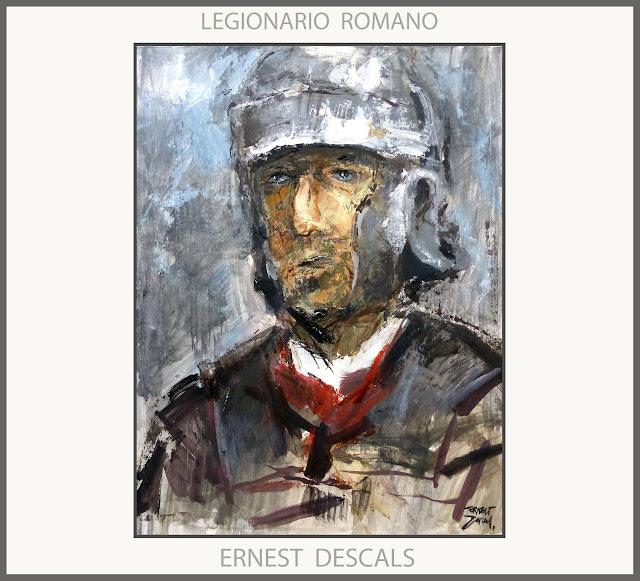 LEGIONARIO-ROMANO-LEGION-PINTURA-ARTE-ROMA-HISTORIA-COLECCION-PINTURAS-ARTISTA-PINTOR-ERNEST DESCALS-