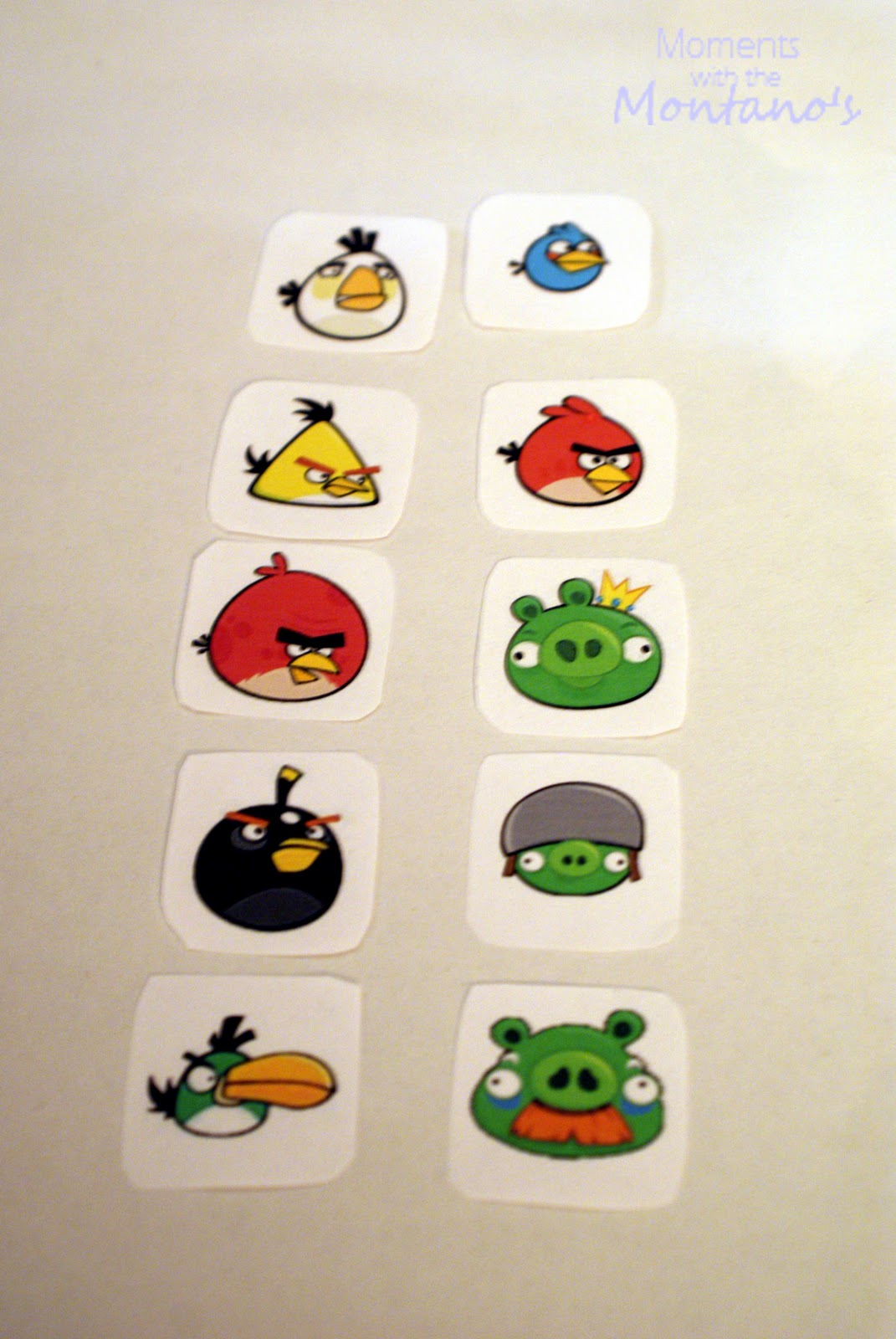It's just a graphic of Adorable Angry Bird Cut Outs