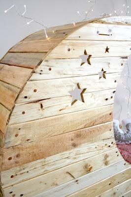 hacer cuna mecedora con palets de madera