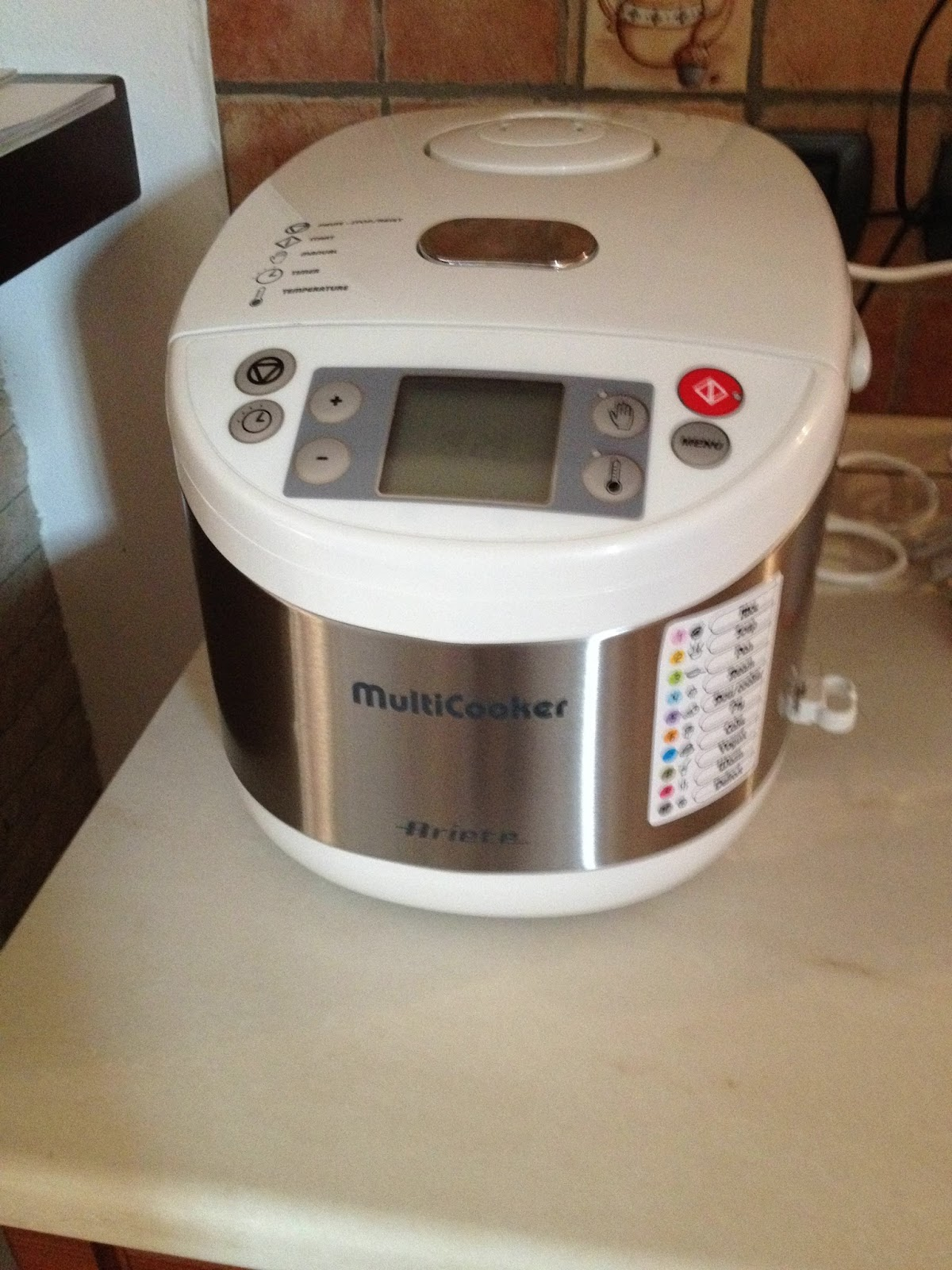LA GAIA CUCINA DI PATTY...: Multicooker