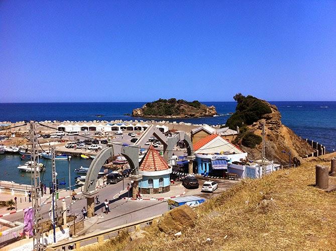 port et île de tigzirt