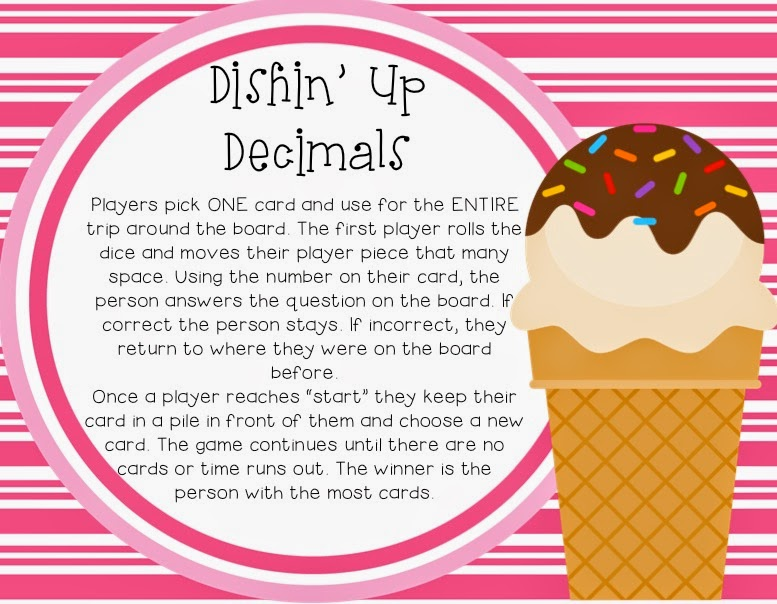 www.teacherspayteachers.com/Product/Dishin-Up-Decimals-1221635