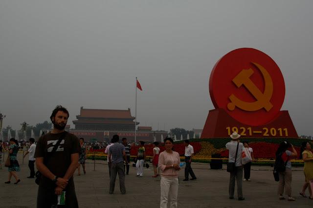 Plaza de Tiannamen, Pekín.