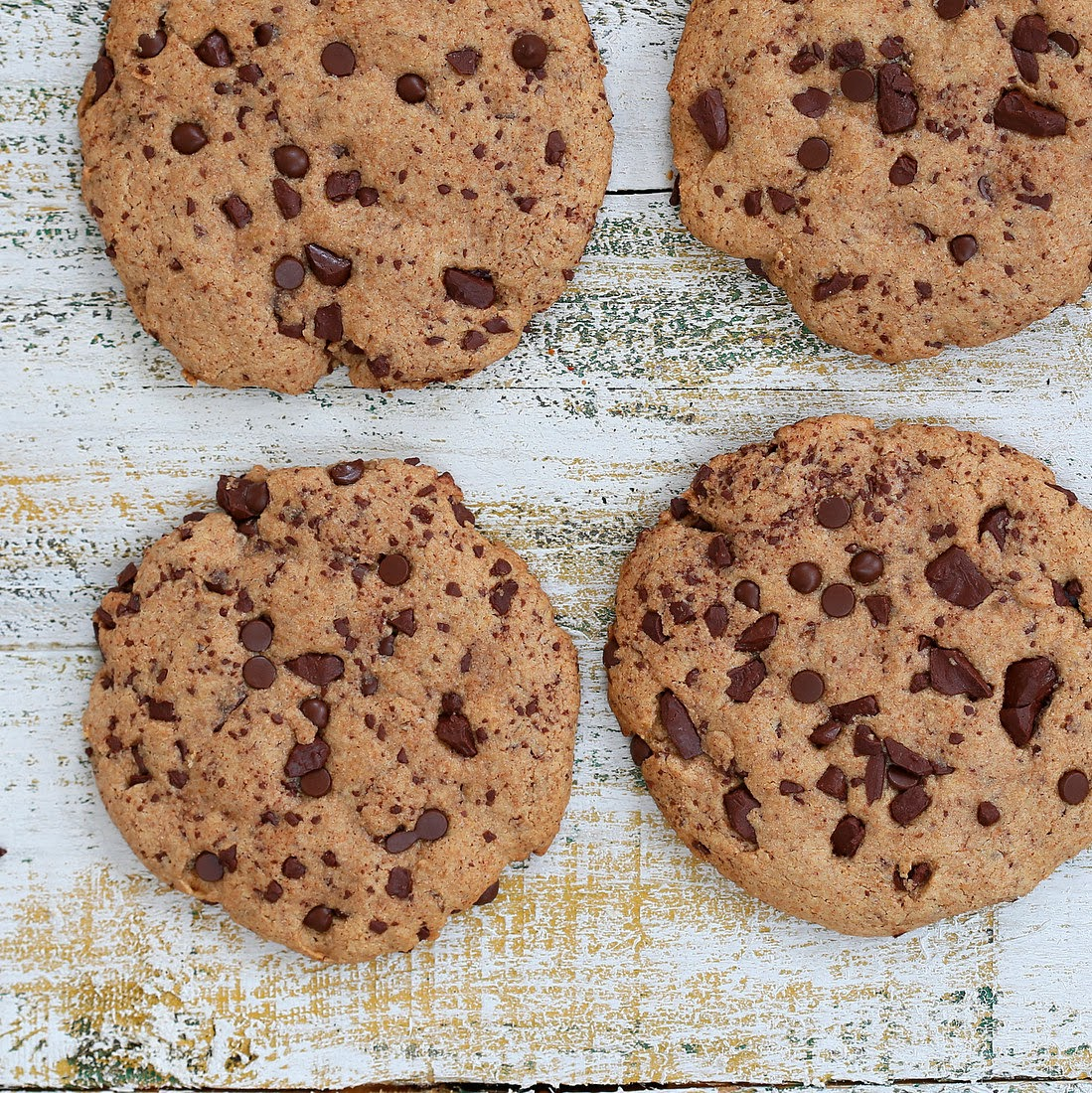 The Ultimate Giant Vegan Chocolate Chip & Chunk Cookies. Recipe ...