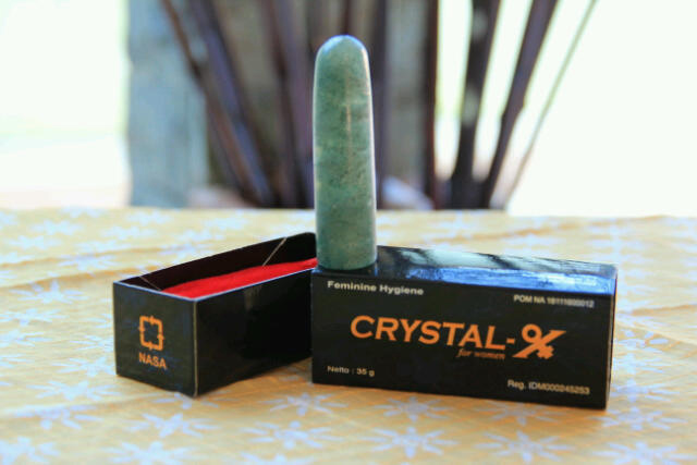Penjual Crystal X asli untuk organ kewanitaan anda