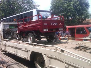 Pengiriman Motor Viar 3 Roda Provit ke Samarinda