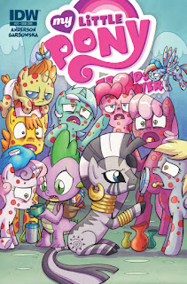 MLP Friends Forever #21 Comic by IDW Subscription Cover by Agnes Garbowska