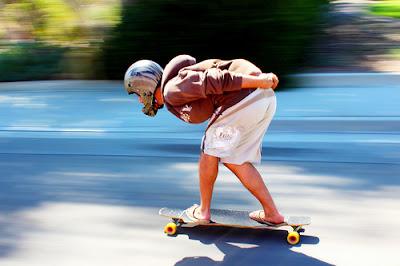 panning skateboard