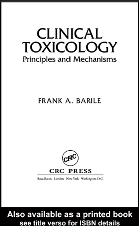 principles of clinical toxicology pdf