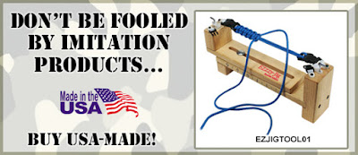 Buy genuine USA Made! EZ Jig - the original bracelet making tool!