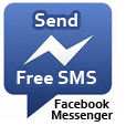 logo facebook messenger, send free sms- from phone to phone-new messaging system by facebook