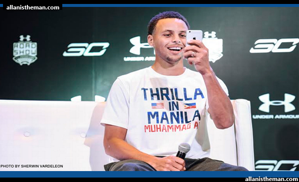 NBA MVP Steph Curry gives tips for Gilas Pilipinas (VIDEO)
